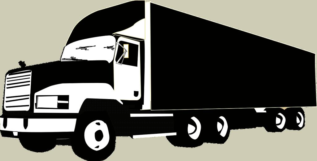 משאית גדולה