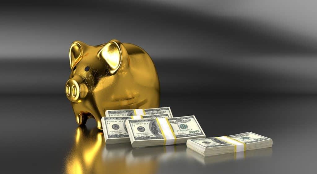 דולרים וקופת חיסכון